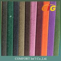 Buy cheap Width 140 - 160 CM Sofa Upholstery Fabric Home Textile 100% Polyester Linen Textile product