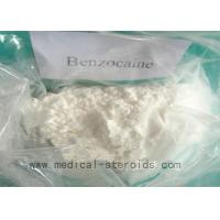 Buy cheap Benzocaine CAS 94-09-7 Local Anesthetic Drugs Treatment Intermediates from wholesalers