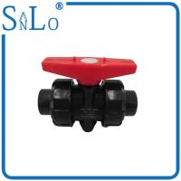 Buy cheap 4 Inch Polyethylene Pipe True Union Ball Valve  For Industrial Sewage Discharge Delivery from wholesalers