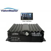 Buy cheap GPS / 3G / Wifi 4 Channel Car DVR Recorder Multistar Network Viewer Black Color product