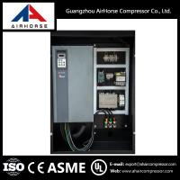 Buy cheap Best Frequency conversion 8bar belt driven double screw air compressor from wholesalers