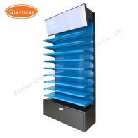 Buy cheap Retail Store Makeup Product Exhibition Floor Display Stand from wholesalers