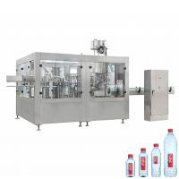 Buy cheap Round Square PET Bottle Filling Machine , 3000-6000 BPH Beverage Filling Equipment from wholesalers
