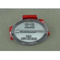 Buy cheap Die Cast Medals For Souvenir , Ribbon Medal Badge For Sports from wholesalers