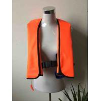 Buy cheap 300D Oxford with PU coating Inflatable life jacket from wholesalers