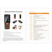 Buy cheap Latest Android Handheld Terminal R310 Barcode Logistics PDA with 4g wifi gps from wholesalers