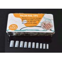 Buy cheap 10 Size Nail Painting Tips Prats Nature Nail Tips Display ABS from wholesalers