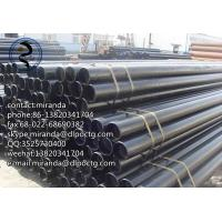 Buy cheap Precision Grade B Steel Pipe Line Tube , Low Pressure Liquid Delivery line pipe from wholesalers