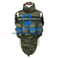 Buy cheap army equipment bulletproof vest army green jacket with nij leveliii body armor plates from wholesalers