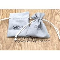 Buy cheap Handmade Velvet Long Drawstring Jewelry Pouches Bag Gift,Suede Fabric Drawstring Bag Jewelry Bag Gift Bag Small Mini Car from wholesalers