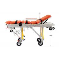 Buy cheap Flexible Heavy Duty Big Ambulance Stretcher Chair Trolley , Folding Stretcher With Wheels from wholesalers