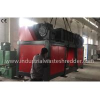 China Automatic E Scrap Shredder , Double Shaft Waste Cable Shredder Machine on sale