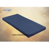 Buy cheap High Density Oxford Fabric  Three Sponge Mattress Topper For Travel Foldable from wholesalers