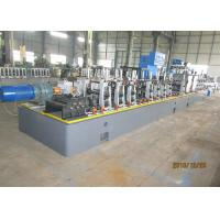 Buy cheap HG60 welding round stainless steel tube mill professional manufacture HF welded pipe production line for round tube from wholesalers