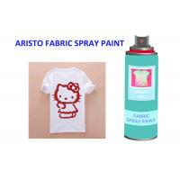 Buy cheap Neon Alcohol Based Upholstery Fabric Spray Paint Leather With Excellent Coverage from wholesalers
