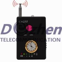 China Multi - Function Hidden Camera Detector , Spy Signal Detector With Alarm Clock on sale