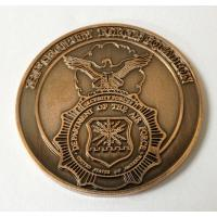 Buy cheap Vintage antique bronze plated commemorative coins, metal commemorative coins, zinc alloy, from wholesalers