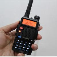 Buy cheap baofeng uv 5r two way radio uv-5r dual band walkie talkie vhf/uhf transceiver from wholesalers
