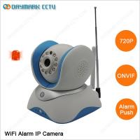 Buy cheap Alarm push notification 720p WIFI pir sensor ip camera home alarm system from wholesalers