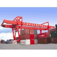 Buy cheap 45ton Capacity Double Girder Rail Mounted Container gantry Crane from wholesalers