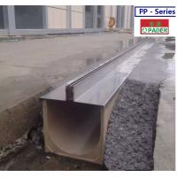 Buy cheap grey polymer drainage channel from wholesalers