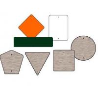 Buy cheap 0.080''--Aluminum Road Safety Sign Blanks from wholesalers