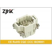 Buy cheap Crimp Insert Cable HEE Heavy Duty Rectangular Connector 10 Pin With High Density from wholesalers