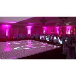 Buy cheap 30mm White/Black wood flooring for trailers starlit led dance floor  led dance floor for sale from wholesalers