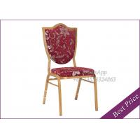 Buy cheap Hot Sale Red Velvet Banquet Aluminum Chairs With Hotel Restaurant (YA-8) from wholesalers