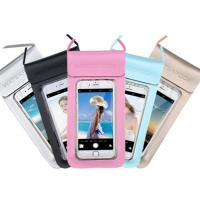 Buy cheap 0.3mm Environmental PU + TPU Waterproof Cell Phone Pouch For Promotional Gifts from wholesalers