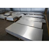 Buy cheap Embossing Corrugated Aluminium Sheet Easy Process Weld Resistant To Rust from wholesalers