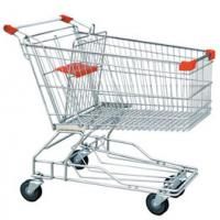 China Shopping Cart with telescopic handle on sale