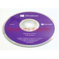 Buy cheap Win 10 Pro OEM 64 Bit Package System Builder DVD 1 Pack  English / Portuguese / Italian / Polish / Japanese from wholesalers