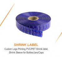 Buy cheap 15 Micron Heat Great Water Proof Pvc Shrink Sleeve from wholesalers