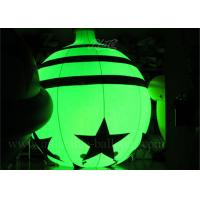 Buy cheap 10 ft RC RGB LED Inflatable Advertising Balloon Christmas Ornaments Bell Shape from wholesalers