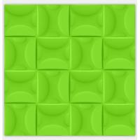 Buy cheap Purple / Green Electrical Plastic Modern 3D Wall Panels Kitchen Decorative 3D product
