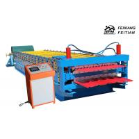 Buy cheap Corrugated Roofing Sheets Making Machines , Metal Sheet Roof Roll Forming Machine from wholesalers