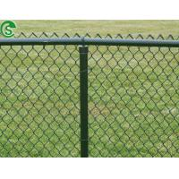 Buy cheap hot dipped galvanized cyclone mesh fencing PVC coated chain link fence from wholesalers
