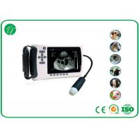 Buy cheap 5'' Portable Diagnostic Vet Ultrasound Machine For Cattle / Dog Convex Probe from wholesalers
