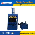 Buy cheap Wanshida Vertical Waste Paper Baler Cardboard baler press Plastic PET Bottles Compactor from wholesalers