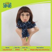 China fashion colorful knitted shawl wholesale price on sale