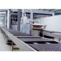 Buy cheap Chocolate Cake Production Machine , Custrad Pie Cup Cake Manufacturing Equipment from wholesalers