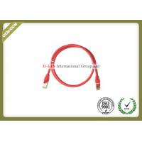 Buy cheap STP 24AWG Network Patch Cord , RJ45 Cat5e Ethernet Patch Cable With Color Boot from wholesalers