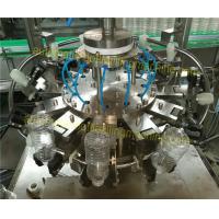 Single Head Beverage Filling Machine 1000 - 2000BPH Rinsing Filling Capping Machine