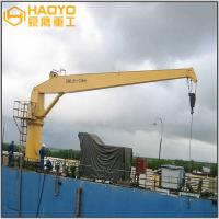 Buy cheap Offshore Pedestal Fixed Marine Cranes with ABS CCS Certificates Marine Ship Deck Crane from wholesalers