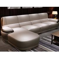 Buy cheap Hotel / Apartment Modern Luxury Furniture Contemporary Leather Sofa from wholesalers