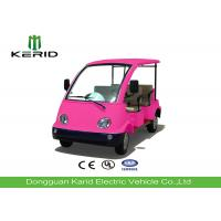 Buy cheap Mini Electric Four Person Golf Cart , Electric Tourist Car For Park City Walking Street from wholesalers