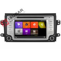 Buy cheap In Dash Car GPS Navigation 2 Din Car Dvd Player For SUZUKI SX4 2006-2012 3G Ipod from wholesalers