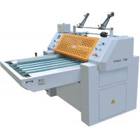 Buy cheap Magnetic Regulating Plate Film Manual Laminator Machine / Lamination Paper Machine from wholesalers