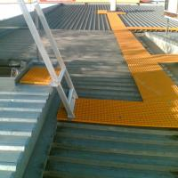 Buy cheap anti-skidding  fiberglass molded grating walkway from wholesalers